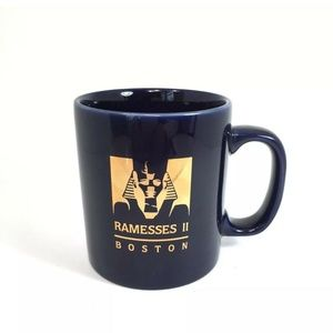 Accessories - Staffordshire England *RAMESSES II BOSTON* Mug